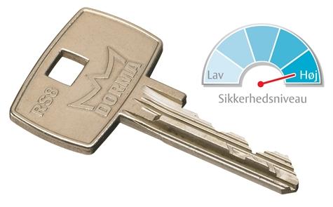 Seriøst Låsecylinder | Låse til døre fra Ruko og Dorma | Billigsikring.dk XM29