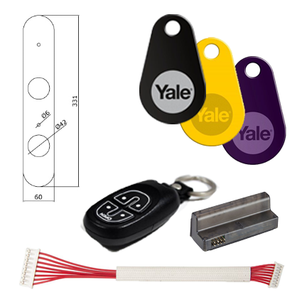 Rask Yale Doorman | Køb Singlepoint eller multipoint her YZ-58